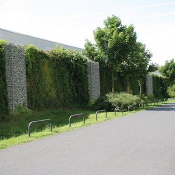 Grüne Lärmschutzwand für Städte und Indsutre - RAU